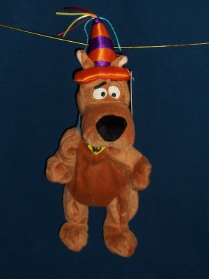 Birthday Hat Scooby Doo Bean Bag from WB Studio Store FREE SHIPPING