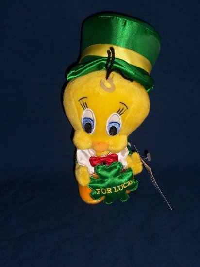 St Patricks Day Tweety Bean Bag from WB Studio Store FREE SHIPPING