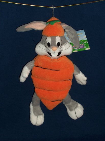 Easter Carrot Bugs Bunny Bean Bag from WB Studio Store FREE SHIPPING