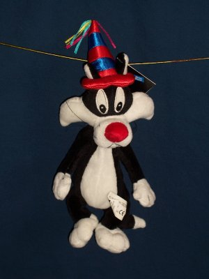 Birthday Hat Sylvester Bean Bag from WB Studio Store FREE SHIPPING