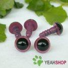 9mm Purple Safety Eyes / Plastic Eyes / Animal Eyes - 5 Pairs