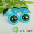 24mm Blue Safety Eyes / Plastic Eyes / Animal Eyes - 2 Pairs