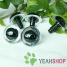 24mm Clear Safety Eyes / Plastic Eyes / Animal Eyes - 2 Pairs
