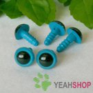 8mm Blue Safety Eyes / Plastic Eyes / Animal Eyes - 5 Pairs