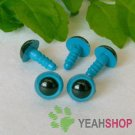 10mm Blue Safety Eyes / Plastic Eyes / Animal Eyes - 5 Pairs