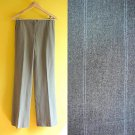 Ann Taylor Dove Gray & Light Blue Pinstriped Tailored Lined Work Pants XS 2 S 4