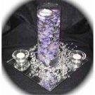 12 Hydrangeas Wedding Reception Glass Vase Centerpieces - Custom Made To Order