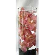 36 Piece Set Orchids Wedding Reception Glass Vase Table Centerpieces - Custom Made To Order