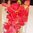 12 Orchids & Floating Candles Wedding Reception Table Centerpieces - Custom Made To Order