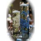 12 Baby's Breath Glass Cylinder Vase Table Centerpieces - Made To Order