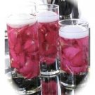 36 Piece Set Orchids & Floating Candles Wedding Reception Glass Vase Table Centerpieces