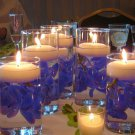 10 Piece Set Orchids Glass Vase Wedding Reception Table Centerpiece - Custom Made to Order