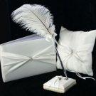 Beautiful White Satin Wedding Collection
