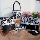 White and Black Florish Wedding Collection - Damask Theme