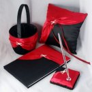 Nostalgia Collection with Bold Red and Black Fabric