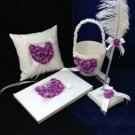 Lilac Rose Heart Wedding Collection (4 Piece Set)