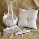 White Starlight Wedding Collection (3 Piece Set)