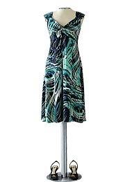 Tiana B Swirl Print Dress