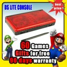 NEW Nintendo China Dragon DS LITE NDSL Console+60 Games