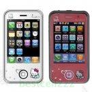 New Unlocked Hello Kitty Mobile Phone 2 SIM MP3/4 FM TV