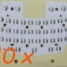10pcs BLACKBERRY 9000 KEYBOARD PCB MEMBRANE STICKER