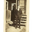 Casual Photo in front of His Home - Photo #3 (1930's)