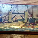 Vintage Toffee Tin - London Tower Bridge