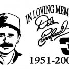 Dale Earnhardt In Memory Decal