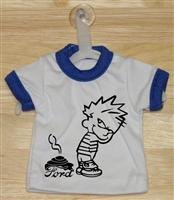 Crap On Ford Mini T-Shirt With Hanger (Blue)