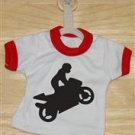 Superbike Wheelier Mini T-Shirt With Hanger (Red)