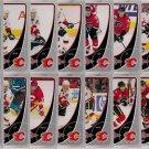 2010-11 OPC Calgary Flames Base Team Set 16-Cards