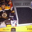 2009-10 Be A Player Rookie Jerseys #RJBB Byron Bitz