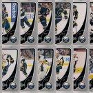 2010-11 OPC Buffalo Sabres Base Team Set 16-Cards
