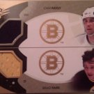 2010-11 SPx Winning Combos WCNP Cam Neely and Brad Park