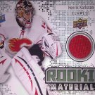 10-11 Upper Deck Rookie Materials RMHK Henrik Karlsson