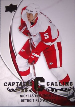 08-09 Upper Deck Captains Calling CPT4 Nicklas Lidstrom