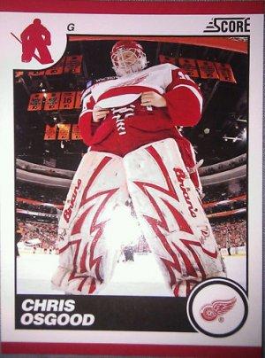2010-11 Score Glossy #200 Chris Osgood