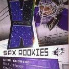 2008-09 SPx #133 Erik Ersberg JSY RC