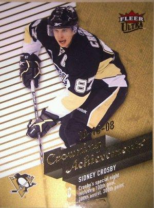 2009-10 Ultra Crowning Achievements #CA3 Sidney Crosby