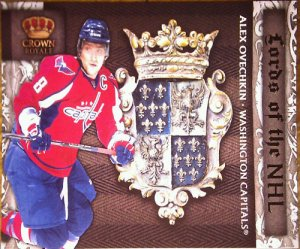 2010-11 Crown Royale Lords of the NHL #1 Alex Ovechkin
