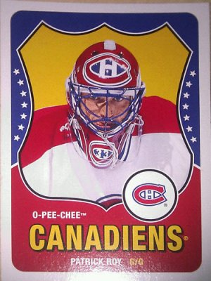 2010-11 O-Pee-Chee Retro #594 Patrick Roy Legend