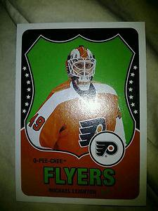 2010-11 O-Pee-Chee Retro Michael Leighton card #55