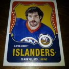 2010-11 O-Pee-Chee Retro Legend Clark Gillies card no. 590