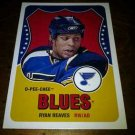 2010-11 O-Pee-Chee Retro Ryan Reaves card no. 525