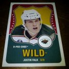 2010-11 O-Pee-Chee Retro Justin Falk card no. 505