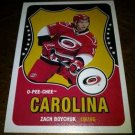 2010-11 O-Pee-Chee Retro Zach Boychuk card no. 242