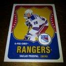 2010-11 O-Pee-Chee Retro Vaclav Prospal card no. 226