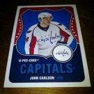 2010-11 O-Pee-Chee Retro John Carlson card no. 220