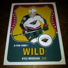 2010-11 O-Pee-Chee Retro Kyle Brodziak card no. 216