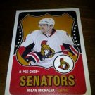 2010-11 O-Pee-Chee Retro Milan Michalek card no. 150
